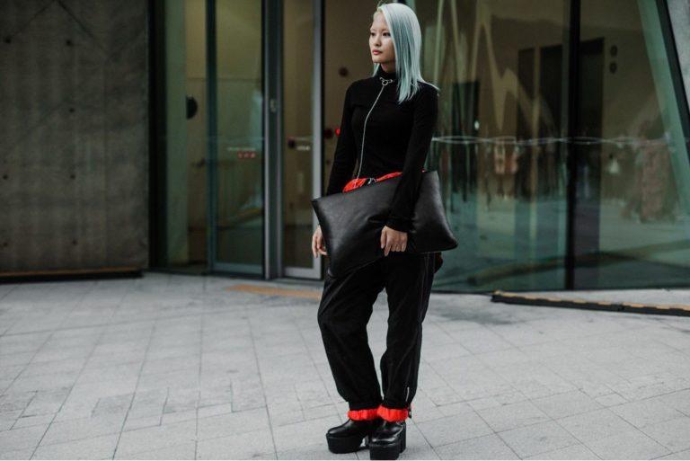 Корейский Street Style с недели моды SS2019